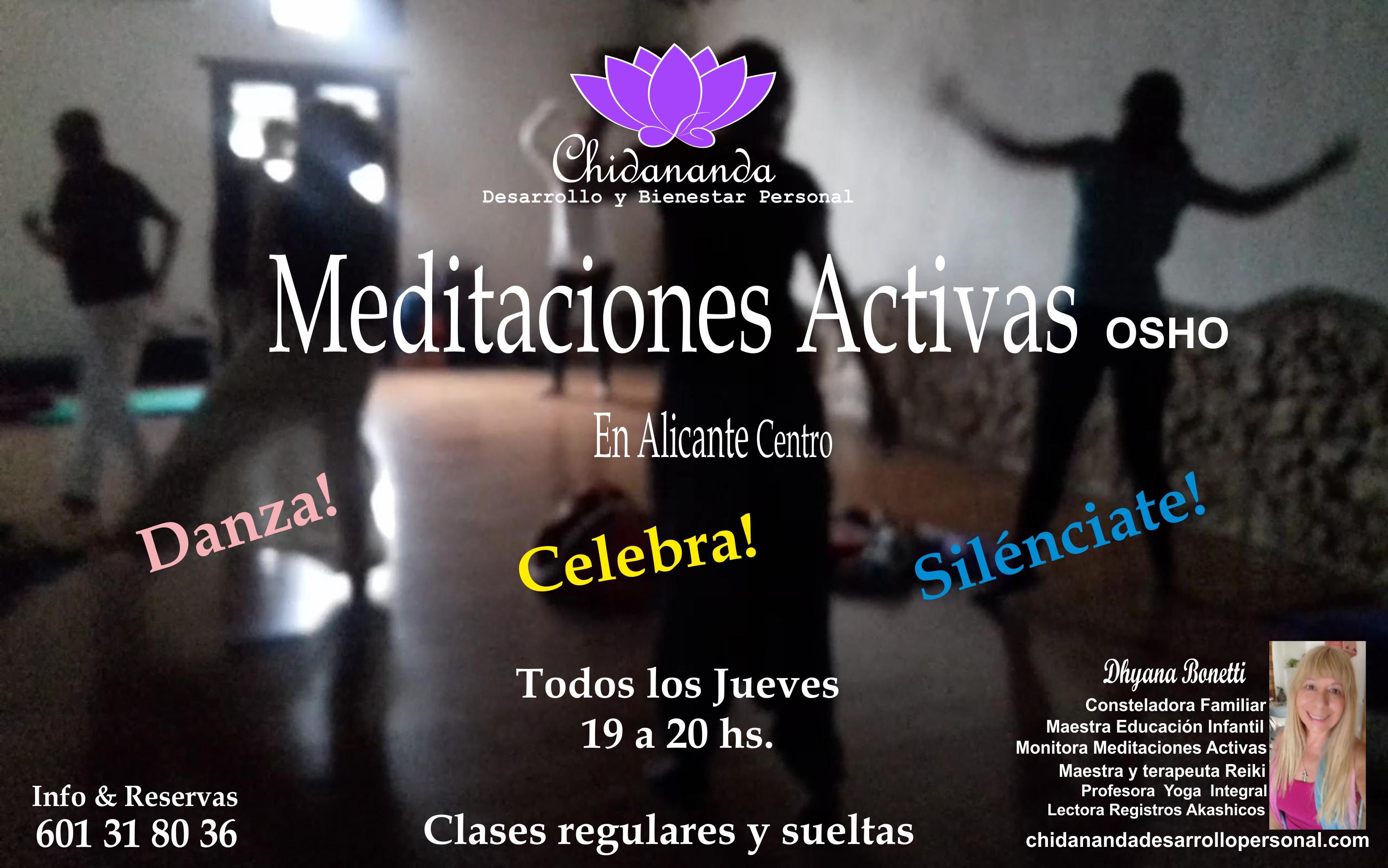 MEDITACIONES ACTIVAS CHIDANANDA