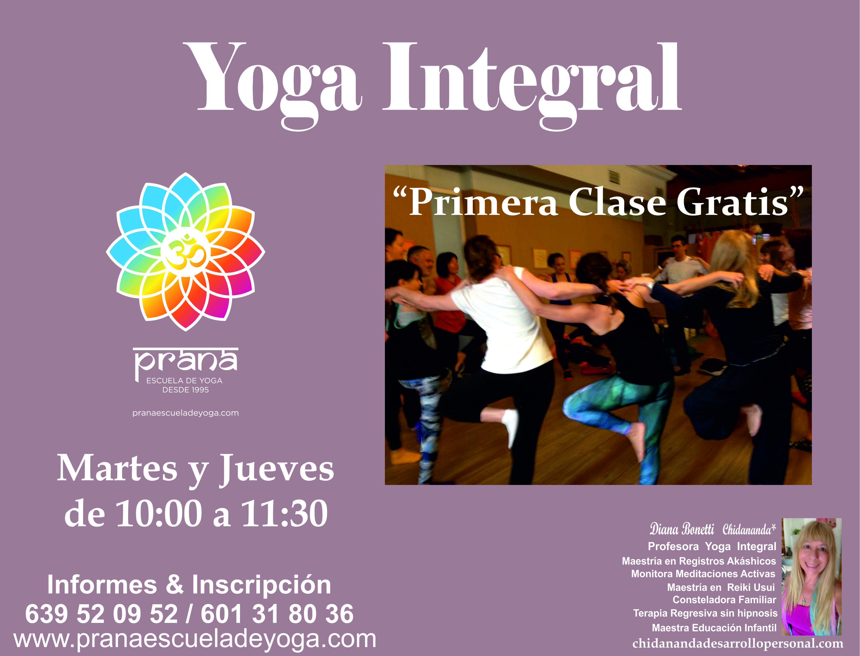 YOGA INTEGRAL CLASES